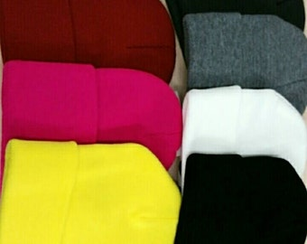 Solid  colors long beanie