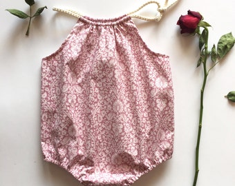 Baby playsuits, Girls playsuits, Baby romper, girls romper using beautiful Tilda Fabric
