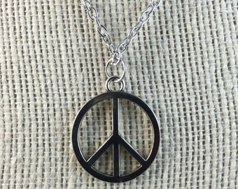 Peace Necklace - Peace Pendant