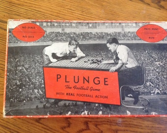 Plunge Football Table Game