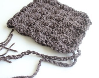 Chocolate Brown Pixie Hat