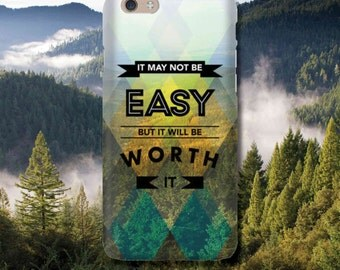 Snap Phone Case for Apple iPhone 6 Live By These Worth It iPersonalised