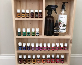 Unfinished Essential Oil Storage, Essential Oil Storage Shelf, Bathroom Shelf, Essential Oil Cabinet, Unfinished Oil Shelf