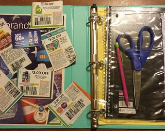 Couponing Binder (without tutorial)