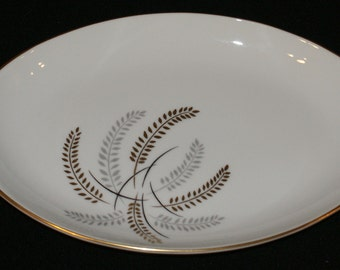 Lipper & Mann (L and M), Harvest Gold, 12 inch oval platter