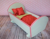 Doll Cradle & Bedding
