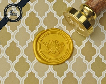 Bee - Wax Seal Stamp by Get Marked (WS0344)