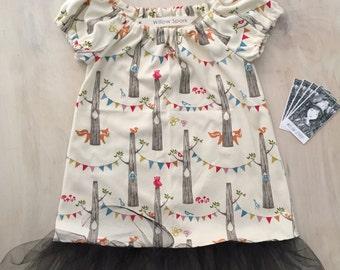 Tutu Dress - Woodland