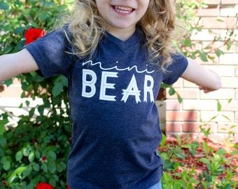 Mini Bear Youth V-Neck Tee
