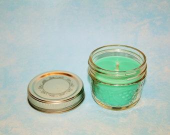4 oz Soy Mason Jar Candle