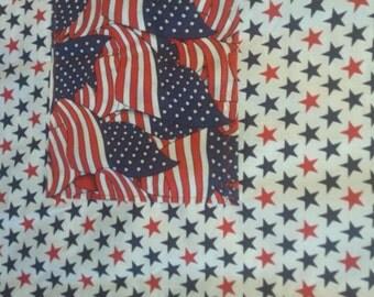 American Flag reversible apron