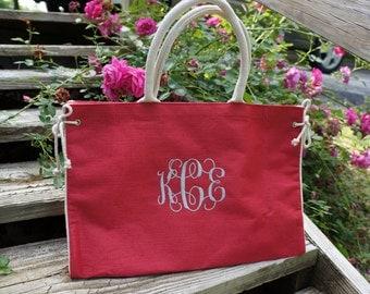 Monogrammed Bag-Monogram Bag-Monogrammed Tote-Monogram Tote-Bag with Monogram-Tote with Monogram-Bag with Initial-Tote with Initial-Hot Pink