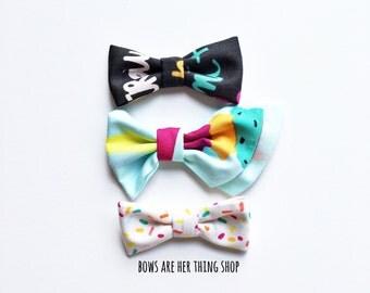 ICECREAM bow set