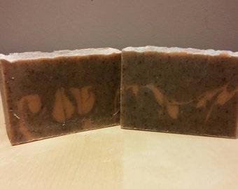 Patchouli Cedarwood Soap - Handmade with beer (homebrew)