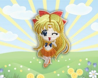 Cartoon Character Iron on Patch(M2) - Cartoon Applique Embroidered Iron on Patch - Size 5.0x8.1cm