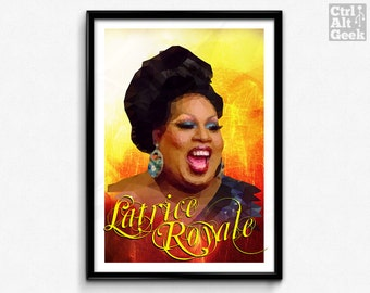 Latrice Royale // RPDR, RuPaul's Drag Race, Drag Queen, Drag Race, Chunky Yet Funky, Large and In Charge, RuPaul, LogoTV
