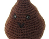 Crochet Poop Emoji, Amigurumi poop emoji, poop plush, gag gift, poop humor