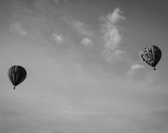 hot air balloon photograph