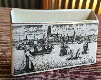 Holland Memorabilia,Holland Souvenir,Dutch Souvenir,Rotterdam,Holland America Line,Holland Ceramic,Holland Cruise,Dutch Ceramic,Dutch Gift
