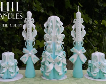 Beautiful candles, Carved candles, Unique candles, Wedding Gifts, wedding supplies, Mother Gifts, wedding stuff, personalized gifts