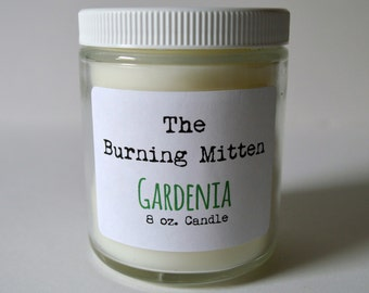 Gardenia 8 oz. Candle