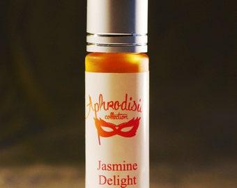 Jasmine Delight - pure, natural jasmine oil perfume, 1ml, 10 ml