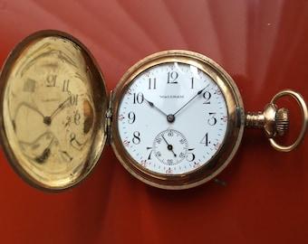Vintage Waltham 6S 16 Jewel Lady Waltham Pocket Watch in awesome shape!