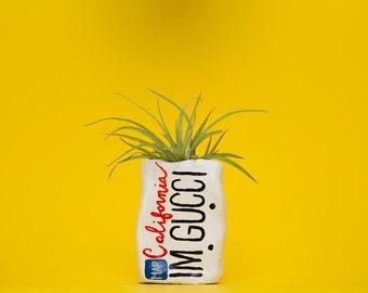 IMGUCCI / LICENSE PLATE planter