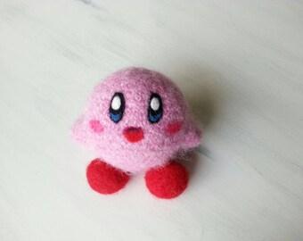 Kirby plush, amigurumi