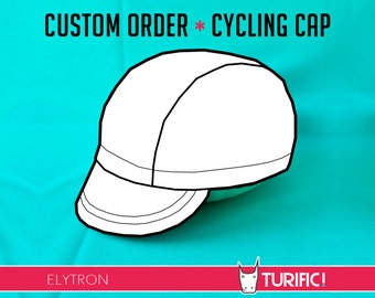 Custom Cycling Cap ~ Elytron