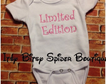 Limited Edition Baby Bodysuit Creeper  - ships within 5 days