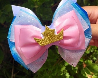 Make it Blue! Make it Pink! Inspired Hair Bow