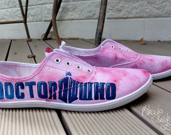 Custom Canvas Shoes - Doctor Who