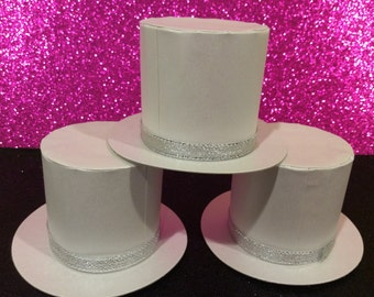 12 pcs. Hat favor boxes-birthday/wedding/baby shower/anniversary/bridal shower/