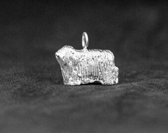 Sterling Silver Komondor Charm