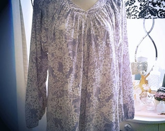 Lovely Lavender Retro Tunic