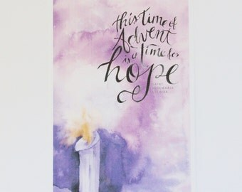 This Time of Advent is a Time for Hope, St. Josemaria Escriva 8x10 print