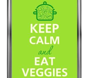 Keep calm and eat veggies - Art Print - Keep Calm Art -  Prints - Posters - Motivational quotes