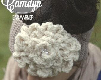 Camdyn Ear Warmer (Crochet Pattern)