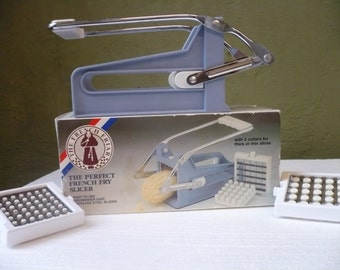 French Fry Cutter Slicer The French Friar