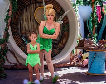 Tinkerbell toddler baby costume or bathing suit swimsuit swimwear great for a Disneyland trip