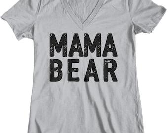 Womens t shirt, tee shirt, Mama Bear, Custom Printed Tee