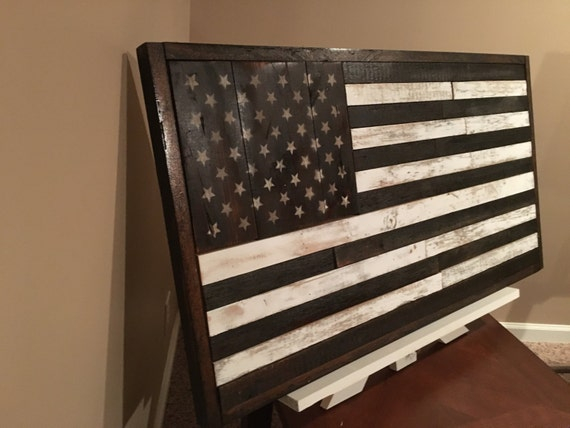 Rustic American Flag Handmade Home Decor Reclaimedrhetsy: Military Home Decor At Home Improvement Advice