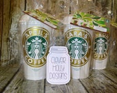 Starbucks Gift Card Set, Cup with Gift Card. The personalized cup comes cello wrapped with gift card [quality coffee cup gift idea]