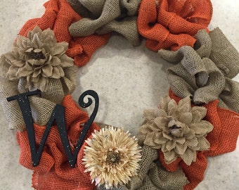 Custom Burlap Wreath- YOU DESIGN!