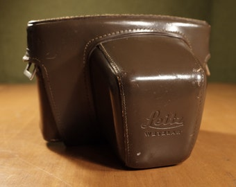 Leica Leicaflex SL, SL2 Brown Leather Evereardy Camera Case