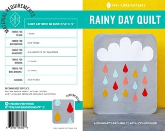PAPER Rainy Day Quilt Pattern