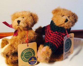 Boyds Bear Plush, Wilson, Edmond Jointed 8 inch Bear, Small Teddy Bear