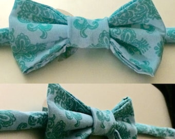 The Bleu Leon Bow Tie - Little Guy Tie