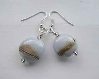 Dove Grey Earrings